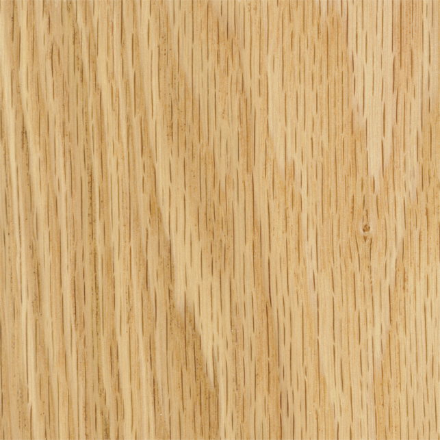 Natural Finish on Oak